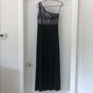 Black One Should Maxi Dress